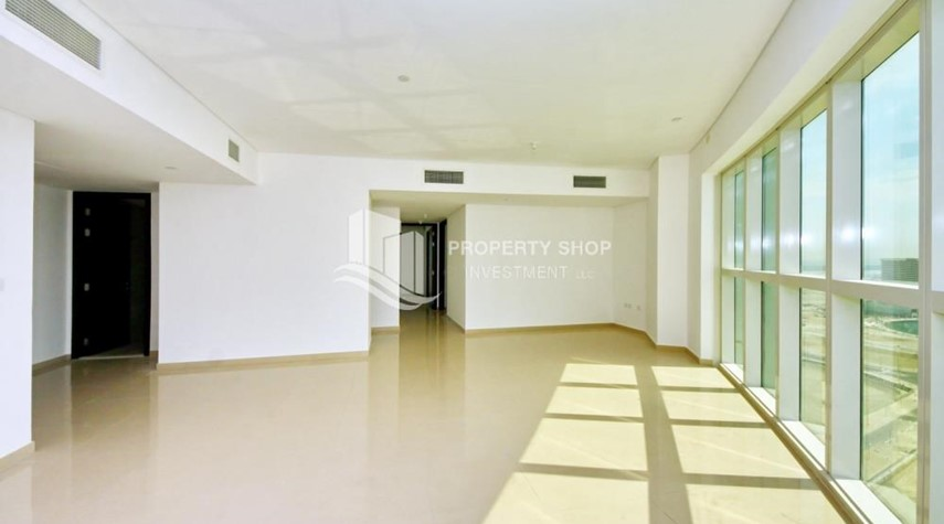 Dining Room-2 Bedroom Apartment in RAK TOWER, Al Reem Island FOR RENT!