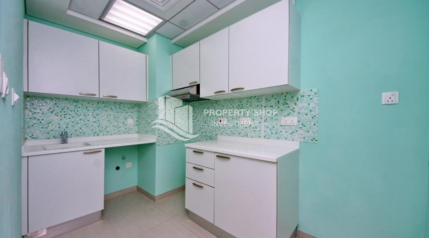 Kitchen-Astonishing 1BR with the best views offered at great price, Inquire at PSI now!