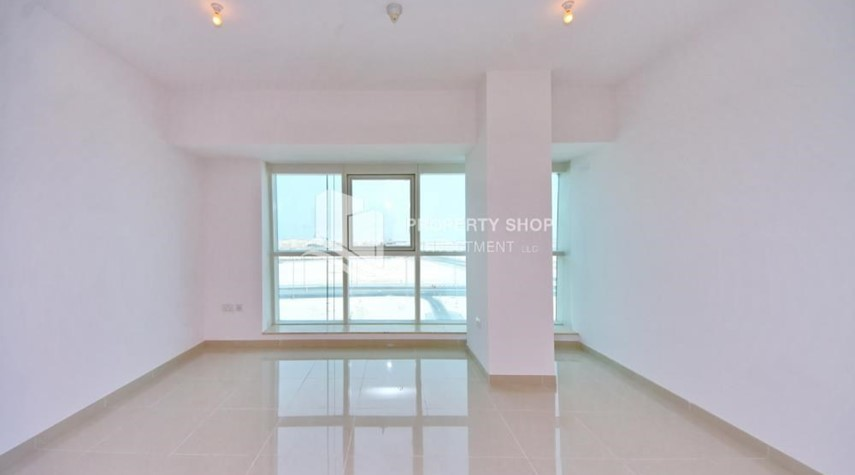 Living Room-Offering High Standard, 2 BR apt w/ Sea View.
