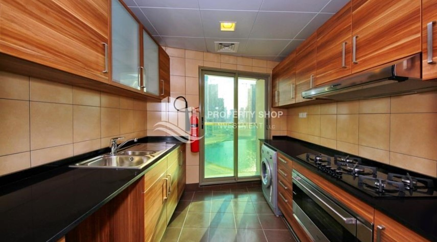 Kitchen-3+M BR with Wide Balcony + 2 Reserved Parking