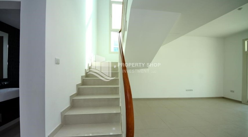 Stairs-3BR+M Villa with private pool.