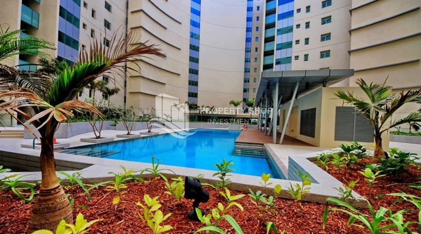 Community-4+M BR Apt on High Floor plus 2% Rent Free + 1 Month Rent Free in Al Raha Beach!