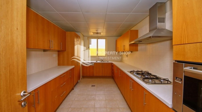 Kitchen-4 Bedroom Villa type (A) for Sale.