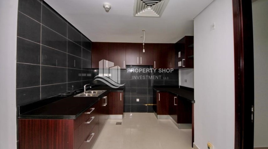 Kitchen-Brand new tower in Al Reem Island ready to move in! Spacious bedrooms!