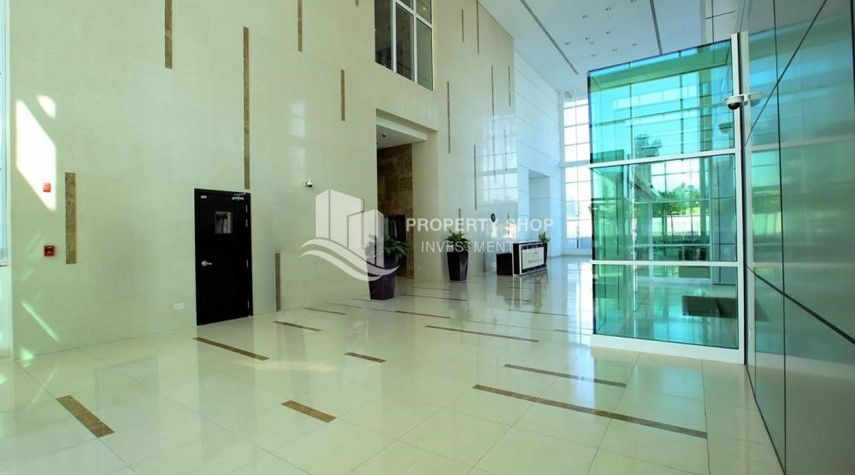 Reception-Brand new tower in Al Reem Island ready to move in! Spacious bedrooms!