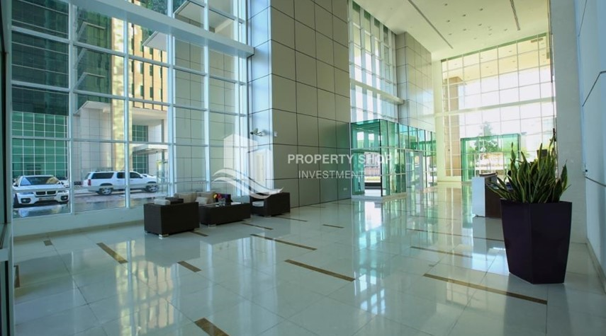 Lobby-Spacious 3 plus 1BR Apt in Mag 5 Residence.
