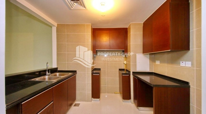 Kitchen-Low floor 2BR Unit with High ROI