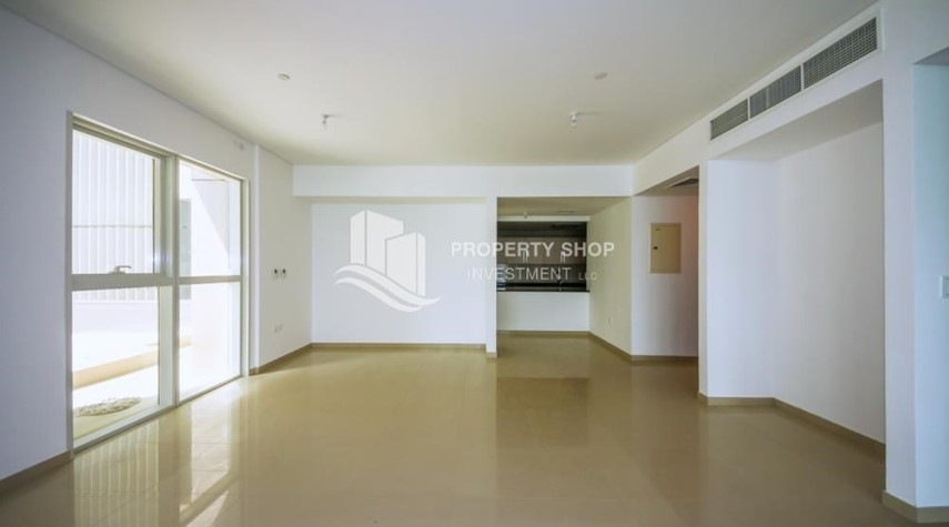 Dining Room-High Floor 3+M BR Apt with huge layout.