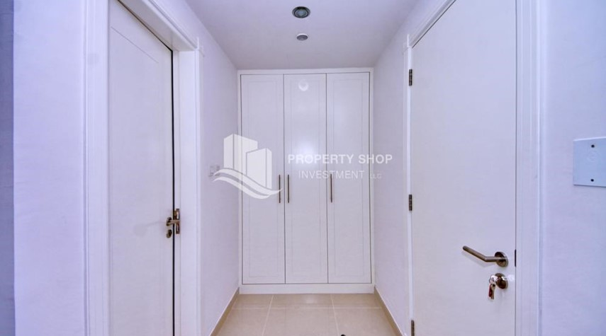 Built in Wardrobe-Spacious 1BR with balcony and sea view.