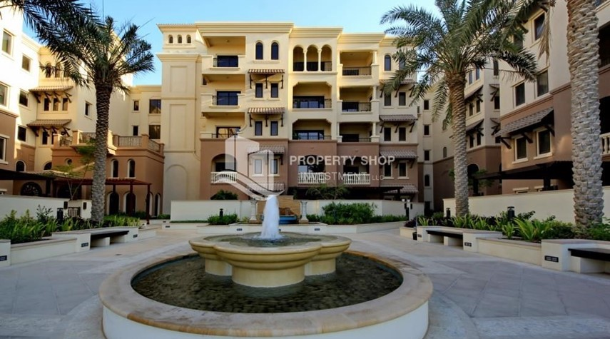 Community-Beautiful and unique living spaces in Saadiyat Beach Residences, 1BR Apt Available for rent! Zero Commission!