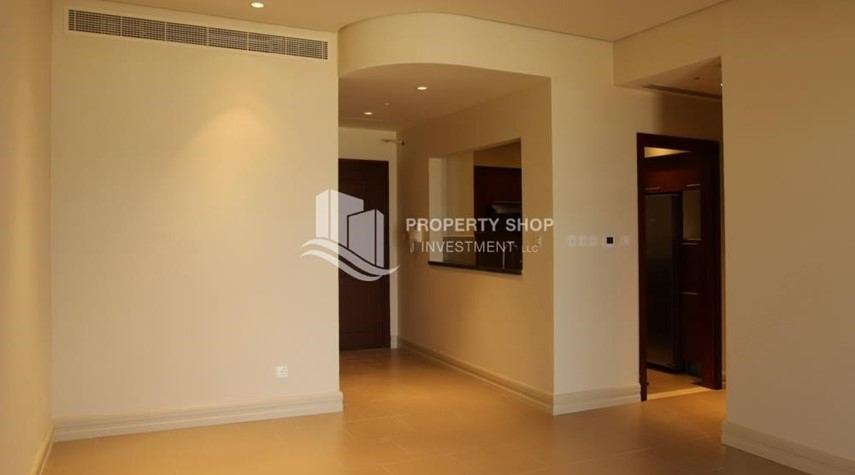 Hall-Beautiful and unique living spaces in Saadiyat Beach Residences, 1BR Apt Available for rent! Zero Commission!