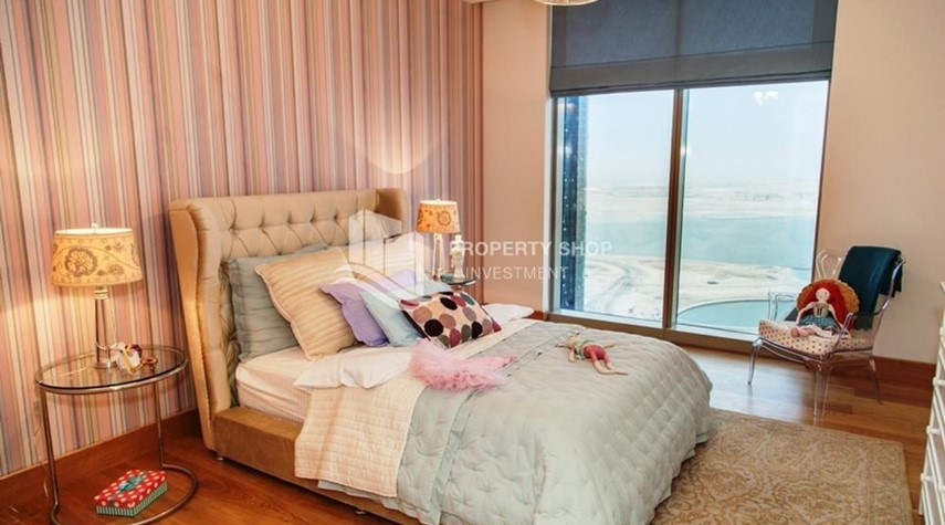 Bedroom-Luxurious 4br plus maids room penthouse in Gate Tower 2. for sale