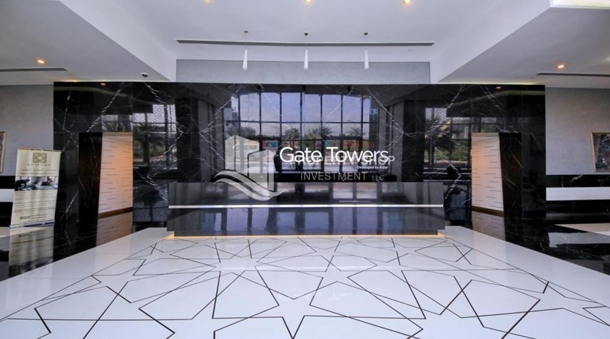 Lobby-Luxurious 4br plus maids room penthouse in Gate Tower 2. for sale