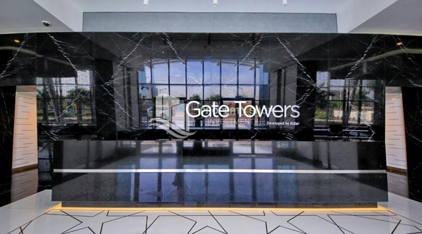 Reception-Luxurious 4br plus maids room penthouse in Gate Tower 2. for sale