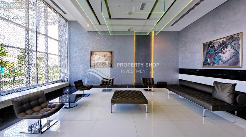 Sitting Area-Luxurious 4br plus maids room penthouse in Gate Tower 2. for sale