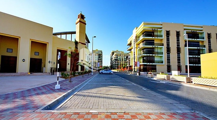 Community-Community view for Apartment for rent in Al Rayyana.