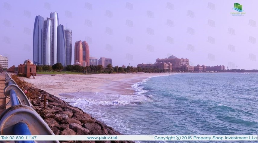 Community-Amazing 2BR apt with Emirates Palace view.