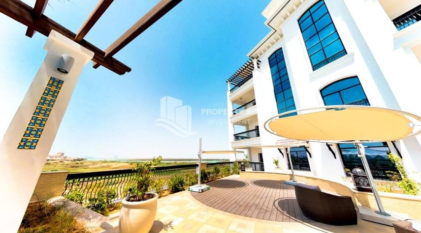 Community-1BR with balcony in Yas Island.