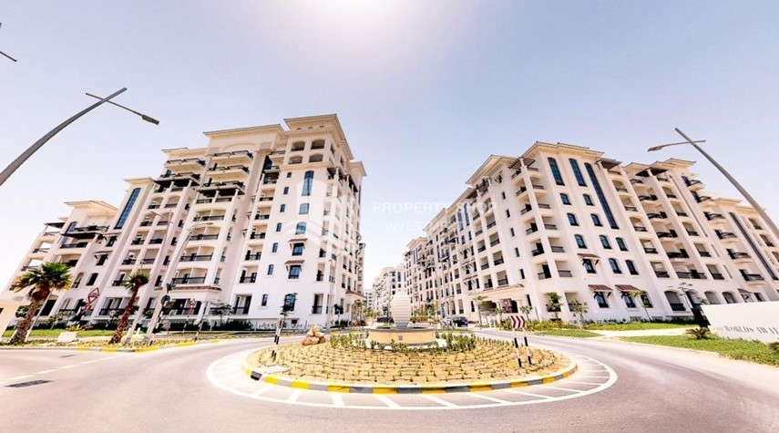 Property-1BR with balcony in Yas Island.