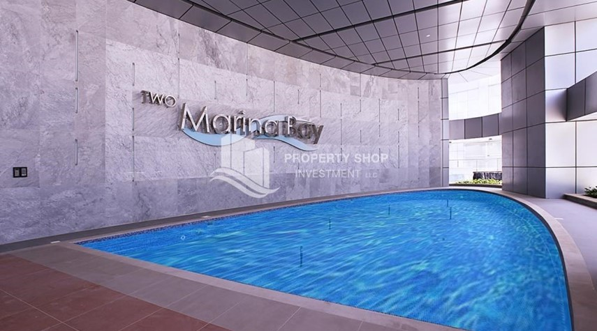 Facilities-Sea View Apt on High Floor with high investment returns.