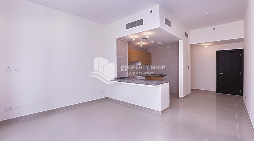 Dining Room-High Floor 2 BR Apt with Balcony in Brand New Tower.