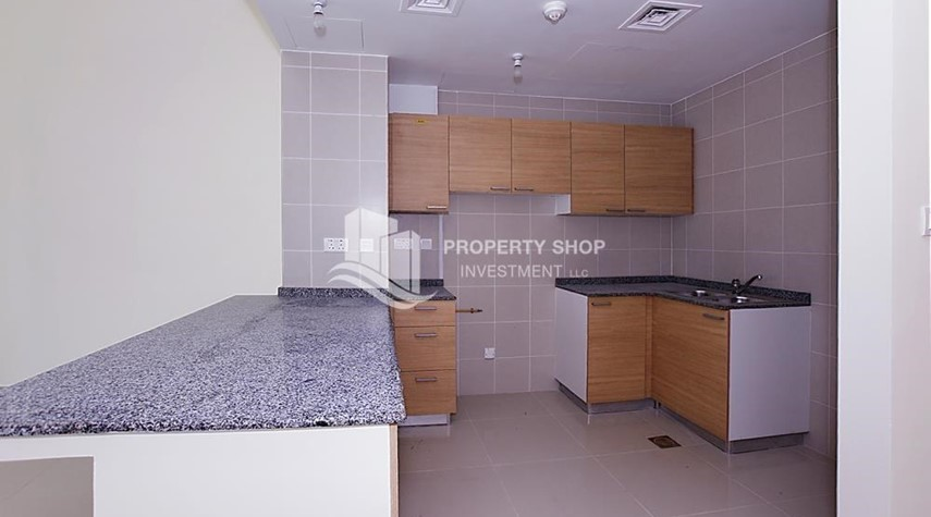 Kitchen-High Floor 2 BR Apt with Balcony in Brand New Tower.