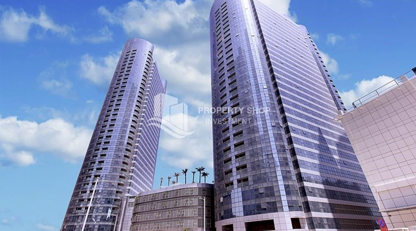 Property-High Floor 2 BR Apt with Balcony in Brand New Tower.