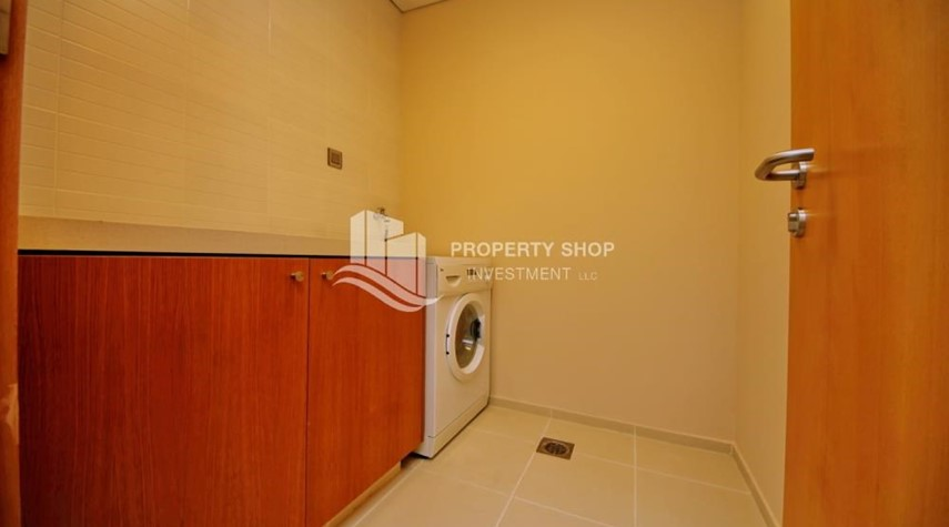 Laundry Room-Amazing Community in Al Raha Beach