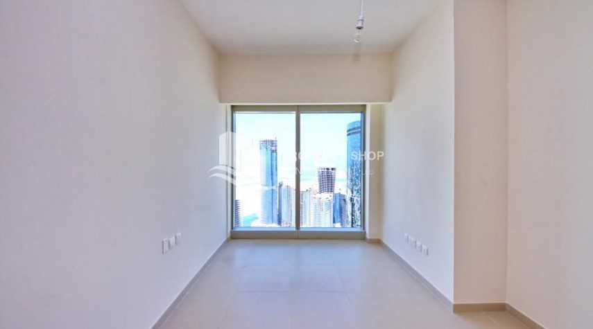 Bedroom-High floor 3+M Unit with Sea View.