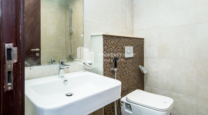 Bathroom-Spacious Studio with Balcony in Brand New Property