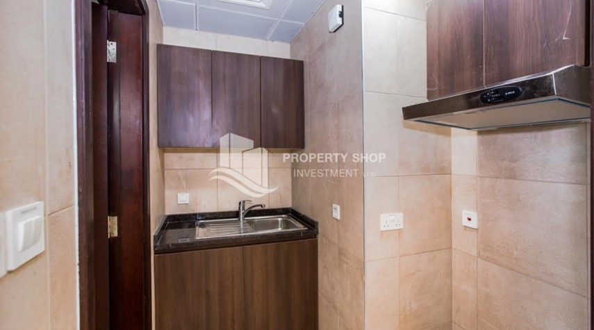 Kitchen-Spacious Studio with Balcony in Brand New Property