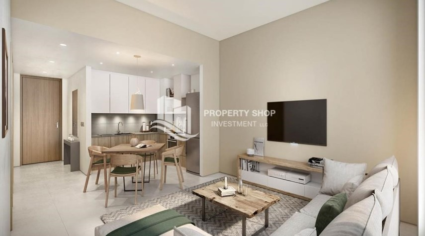 Dining Room-Pay AED 52,000 down payment for 1 bedroom | free ADM fees | zero commission