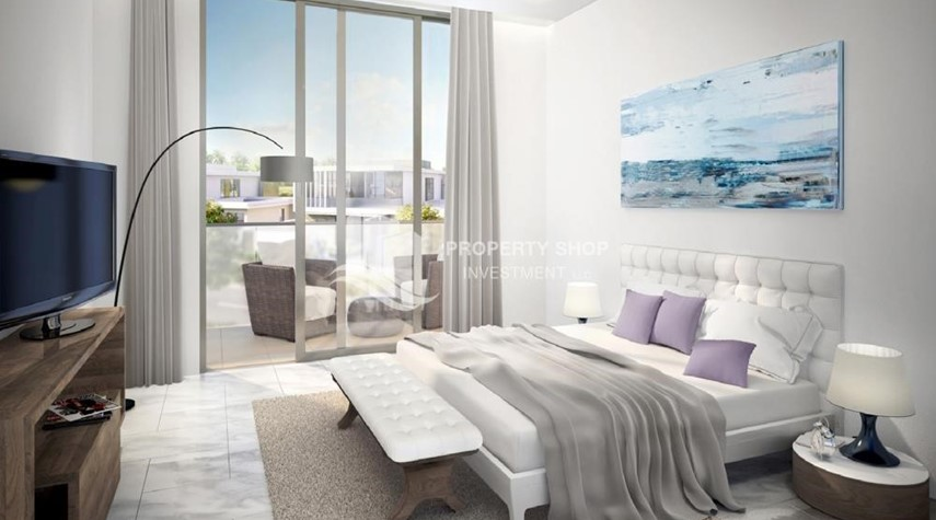 Bedroom-Own a property in a luxurious community in Yas Acres.