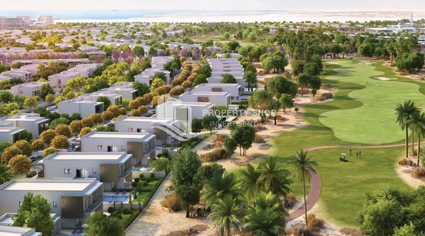 Community-Own a property in a luxurious community in Yas Acres.