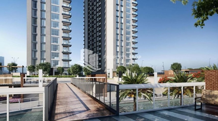 Community-Stunning 1BR Apt with a breathtaking view of Al Reem canal.