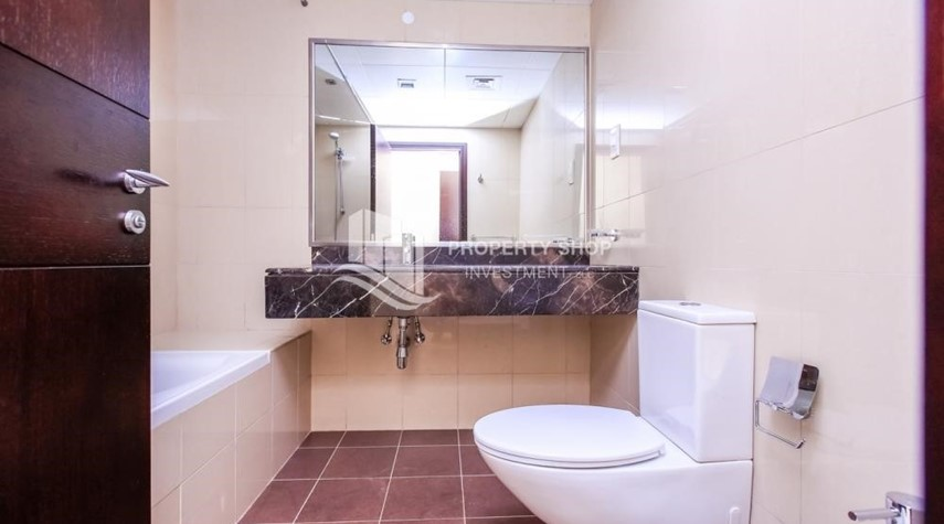 Bathroom-1+1, high standard apartment in Sky Tower