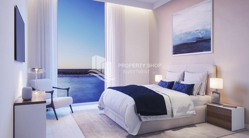 Bedroom-3BR+M in a brand new community in Yas Island.