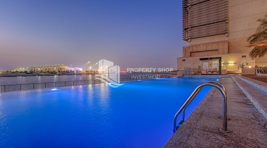 Facilities-Stunning 2 BR apartment for rent in al Raha Beach