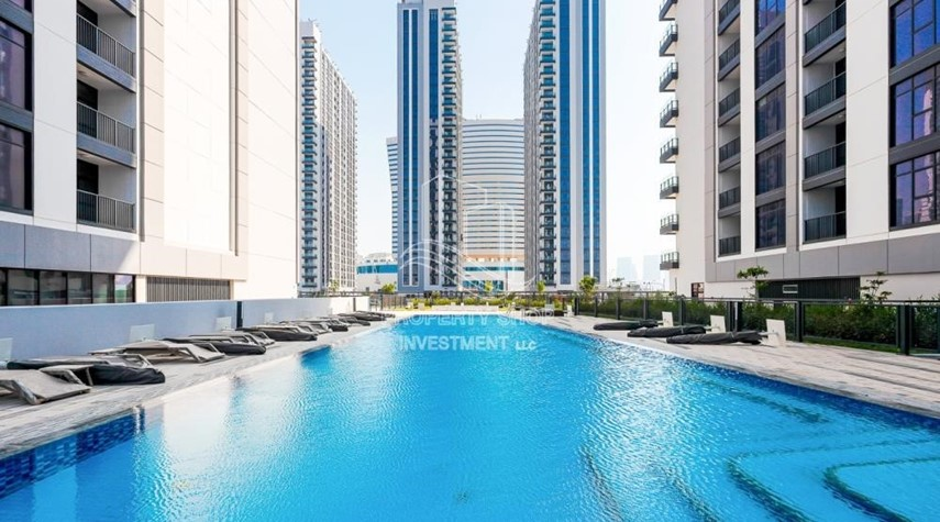Facilities-1BR apartment with Pool view for sale in The Bridges!
