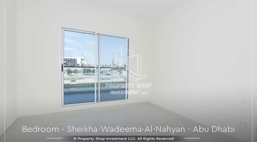 Bedroom-Relaxed Ambiance in Al Raha Beach, 2BR+M Apt Available for rent!
