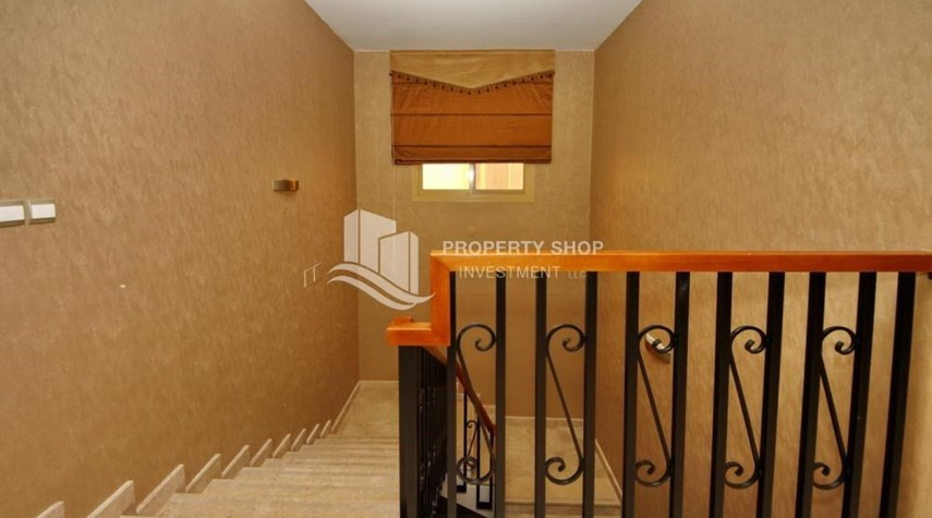 Stairs- 5 BR In Prestigious Community with private pool and extended outside kitchen